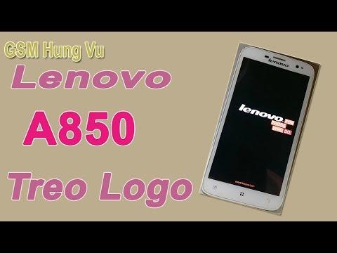 Lenovo A850 treo logo Flash firmware by SP Flashtool fix ok.