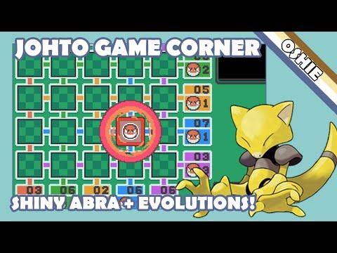 Live Shiny Game Corner Abra + Evolutions in SoulSilver - 1215 Pokémon Seen!