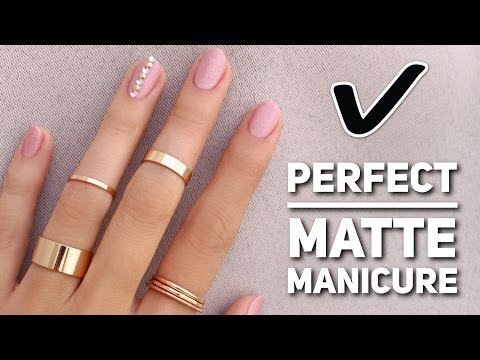 Get The Perfect Matte Manicure!