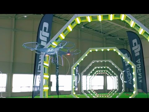 DJI - Test Your Flying Skills at the DJI Arena