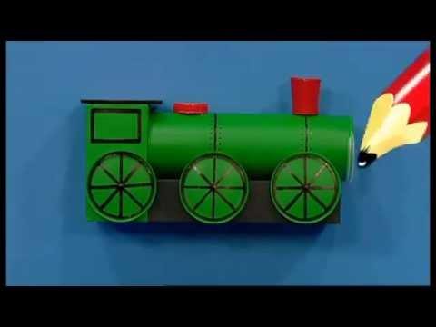 Mister Maker   Train Pencil Pot