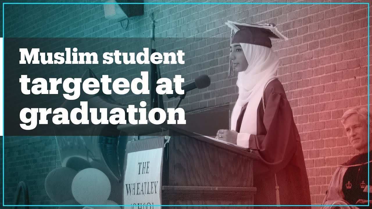 Parents and students target Muslim student at graduation
