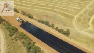 Road Bituminised Incredible Construction Work Moora Shire Road Works