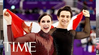 Tessa Virtue And Scott Moir Respond To Those Internet Relationship Theories | TIME