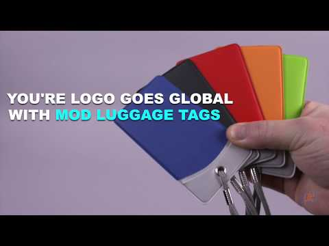 Your Logo Goes Global With Mod Luggage Tags