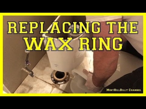 How To Replace the WAX RING on your toilet - Repair leaking toilet