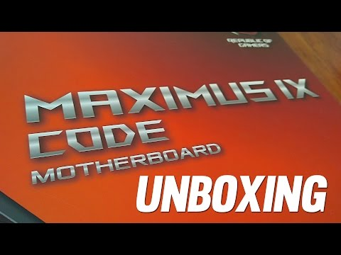 Unboxing Motherboard Asus Maximus IX Code con el chipset Z270 Kaby Lake