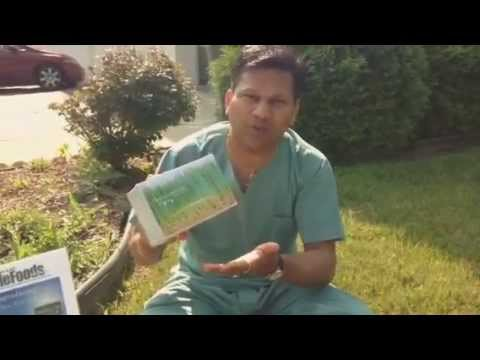 Whole food Wheatgrass Powder with Roots (In Hindi )