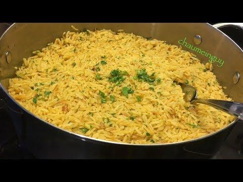 Rice-Pasta Side Dish