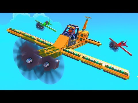 WHO HAS THE BEST PLANE CHALLENGE! - Trailmakers