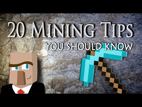 20 Minecraft Mining Tips and Tricks You Should Know!