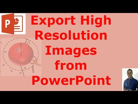 How to Export High Resolution Images (300 DPI) from PowerPoint