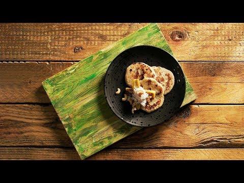 Banana Dosai - How To Make Banana Dosai - Healthy Snacks