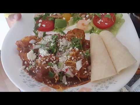 My version of Chicken Enchilada