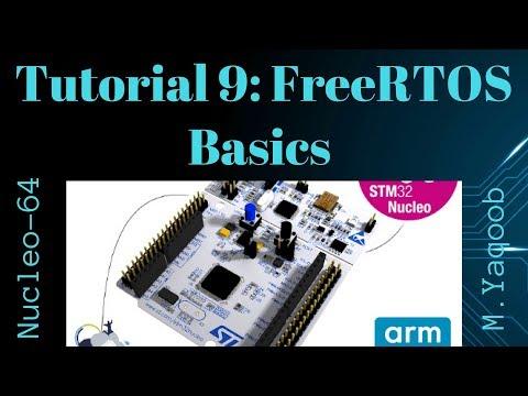 STM32-Nucleo - Keil 5 IDE with CubeMX: Tutorial 9 - FreeRTOS