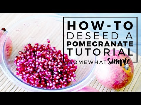 Pomegranate Deseeding Hack - One of My Most Favorite Kitchen Hacks!