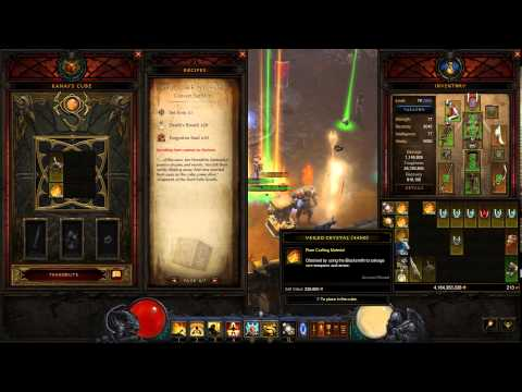how to get legendary items easily in diablo 3 patch 2.3 using the cube