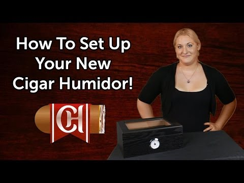 How To Set Up Your New Humidor