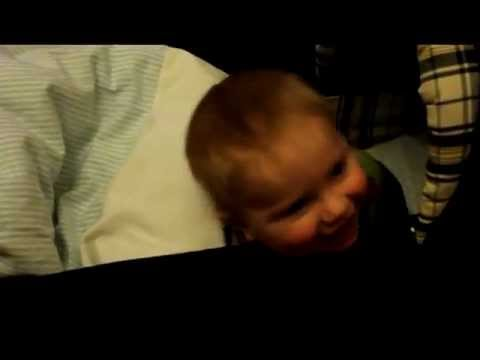 Cutest Baby Ever - Max is sooo Excited about Talking - saying Bah Bah (Obviously Papa)