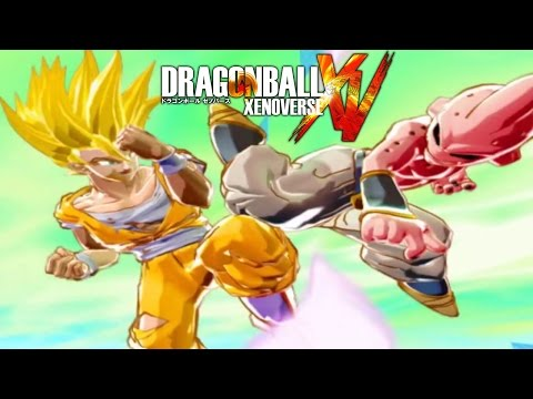 Dragon Ball Xenoverse: Dragon Ball Online Boss/ Villain Gameplay Discussion!