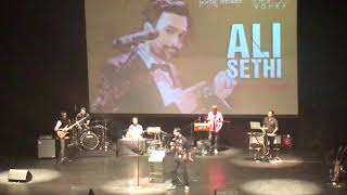 Ali Sethi's opening remarks on Women's day and beyond during his show-  Live in Dubai 10 March 2018