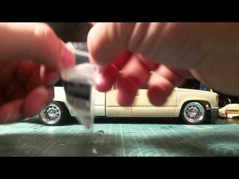 UNBOXING/REVIEW: B-N-LResins model car resin parts