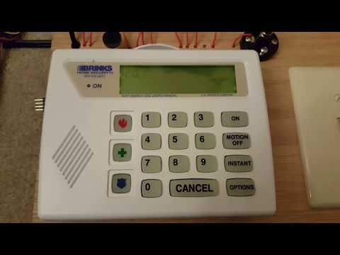 Defaulting and programming a Brinks BHS-4000