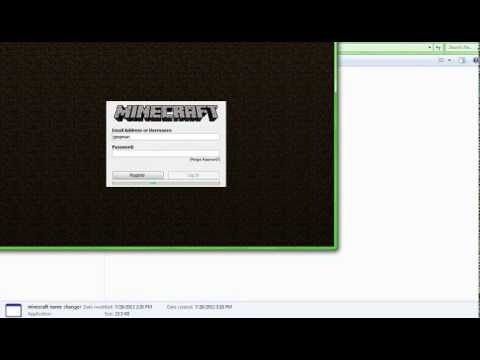 how to change your minecraft username download link in description