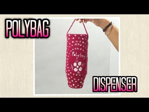 DIY Plastic Bag Dispenser using Waste Material | Enjoy Crafting # 67