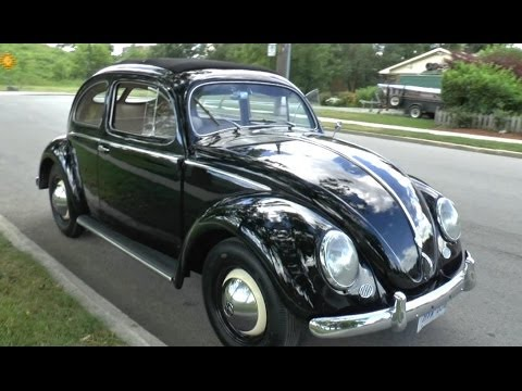 1953 Volkswagen Split Window Beetle