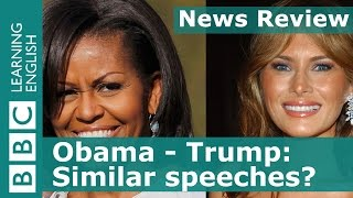 BBC News Review: Are these two speeches similar?