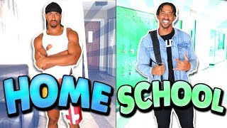 How You Act At SCHOOL vs HOME