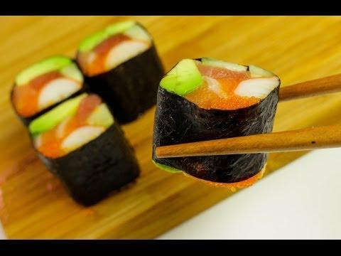 No rice sushi roll - Sushi Recipe