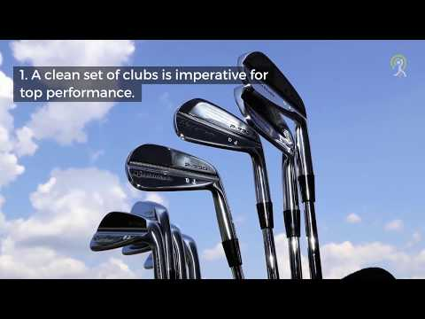 5 Reasons You Should Clean Your Own Golf Clubs