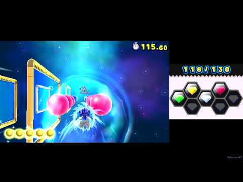 Sonic Lost World ~ 3DS [Part 2 ~ Desert Ruins Zone / Special Stage 4 / 5 / 6 / Boss: Zomom ~ S Rank]