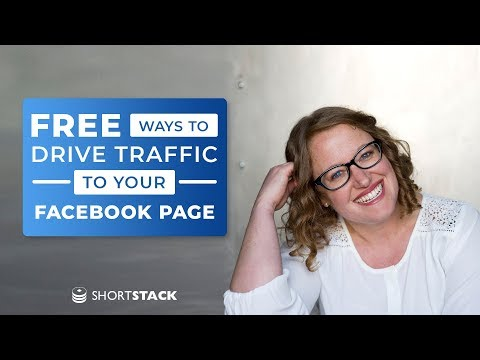 Free Ways to Drive Traffic to Your Facebook Page