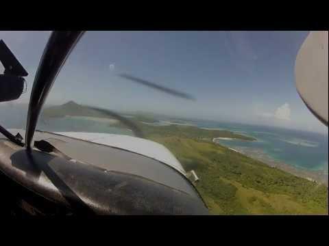 Turtle Airways Seaplane flight from Nadi (Fiji Island) to Nanuya Island Resort (Fiji Yasawa Islands)