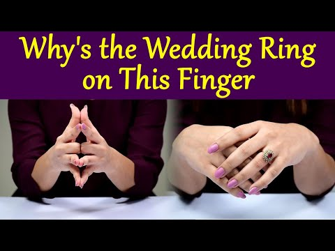Wedding Ring Finger: Why do we wear Wedding Rings 4th finger of Left Hand, Know the Reason | Boldsky