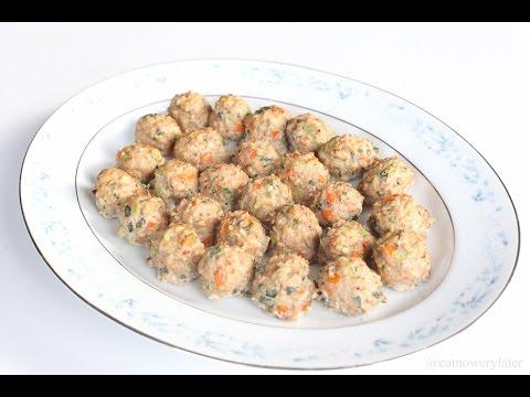 HEALTHY EATS 4: Turkey Quinoa and Apple Meatballs