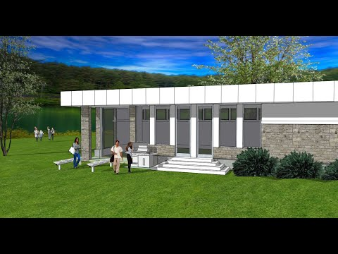 Create a Panoramic Background for a SketchUp Model