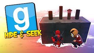 GMOD Hide & Seek - DOGPOOL SEEKER! (Garry