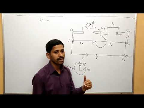 Maharashtra Board Physics kelvin method to determine unknown resistance of galvanometer