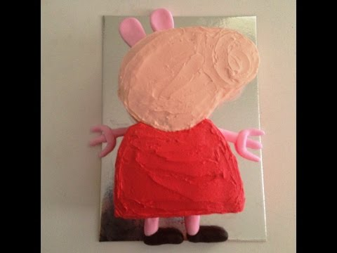 How to Make a Pig Babe Birthday Cake