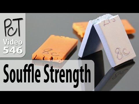 Sculpey Souffle Polymer Clay Strength Test