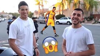 Devin Booker SHOUTS ME OUT! (With D