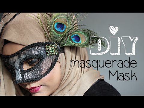 DIY│Masquerade Mask
