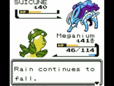 Pokemon Crystal - Catching Suicune with 1 Ultraball