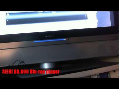 SEIKI BD.660 - Walmart's budget-priced region-free Blu.ray player