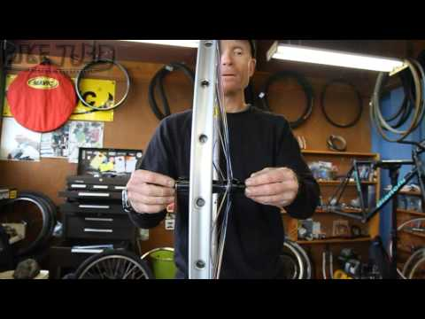How to Dish a Bicycle Wheel | TheBikeTube.com