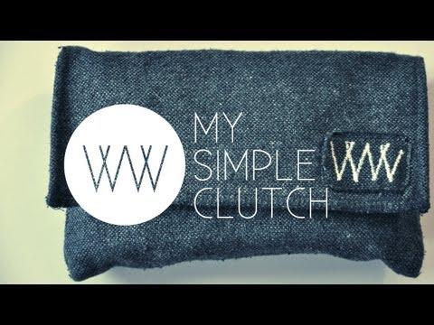 How to Make a Simple Clutch | WITHWENDY